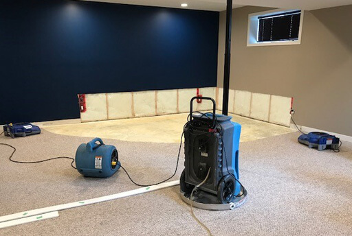 Water Damage & Structural Drying reconstruction services